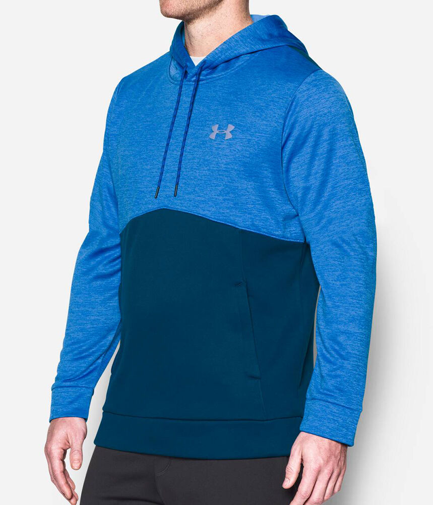 Under Armour Storm Icon Twist Hoody hoodie men Blau Grau 1280750-998