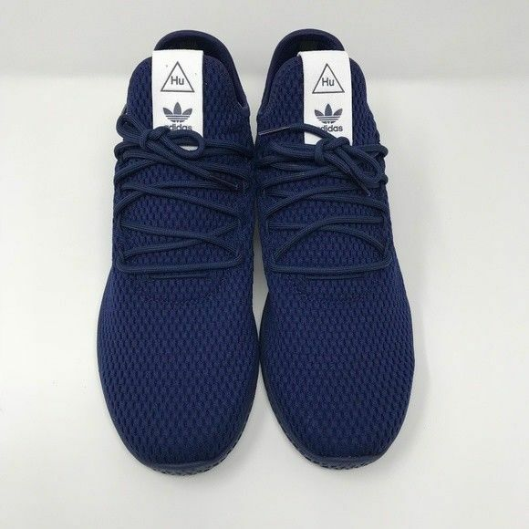 a0c7ef5ea050c adidas Mens Pharrell Williams Tennis HU Athletic Shoes By8719 Navy 9.5 Navy  for sale online