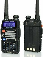 Handheld Ham Radio Dual Band Digital Police Scanner Tri Power Bf-f9 V2+ Baofeng