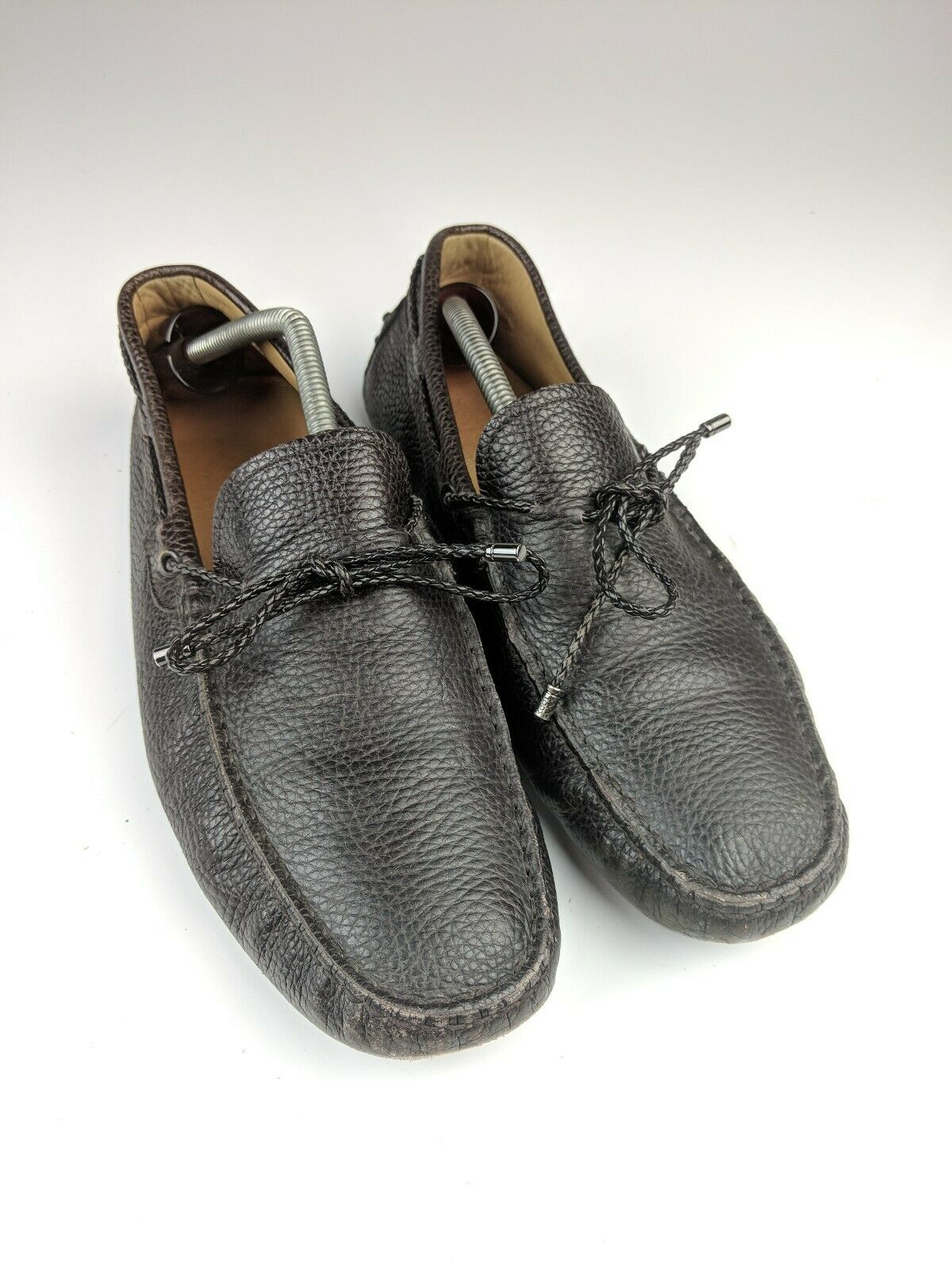 Tod's Mens Gommino Driving Moccasins braun Lace Sz 8.5 Tods 9.5 US 1069