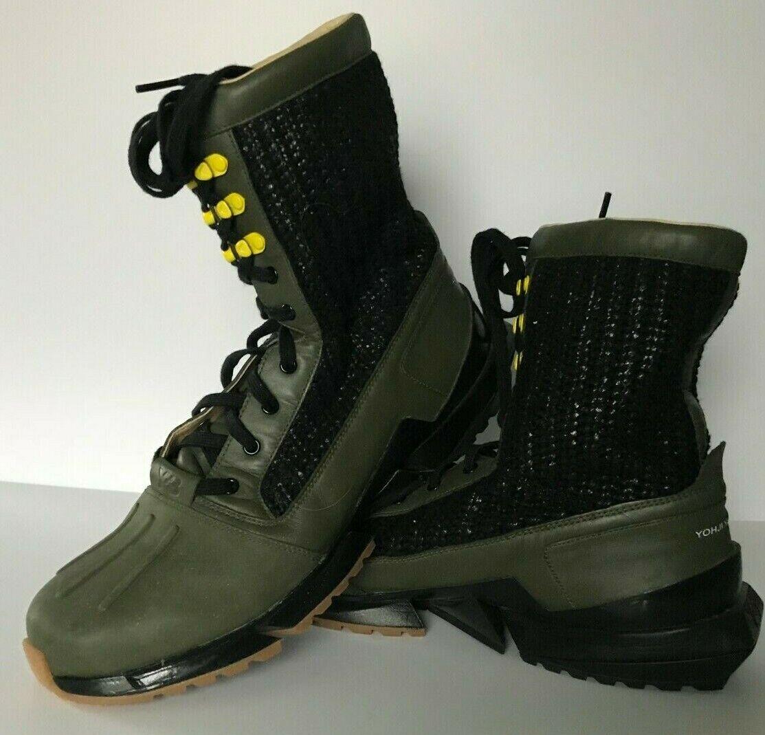 Adidas Y3 Warrior Combat Stiefel US 11 Yohji Yamamoto Y -3 g46272