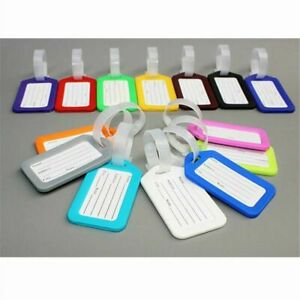 10-Travel-Luggage-Bag-Tag-Plastic-Suitcase-Baggage-Office-Name-Address-ID-Label