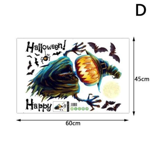 Happy Halloween removíveis De Parede Adesivo Vinil Arte Decoração De Casa Sala De Decalque Faça você mesmo Mural