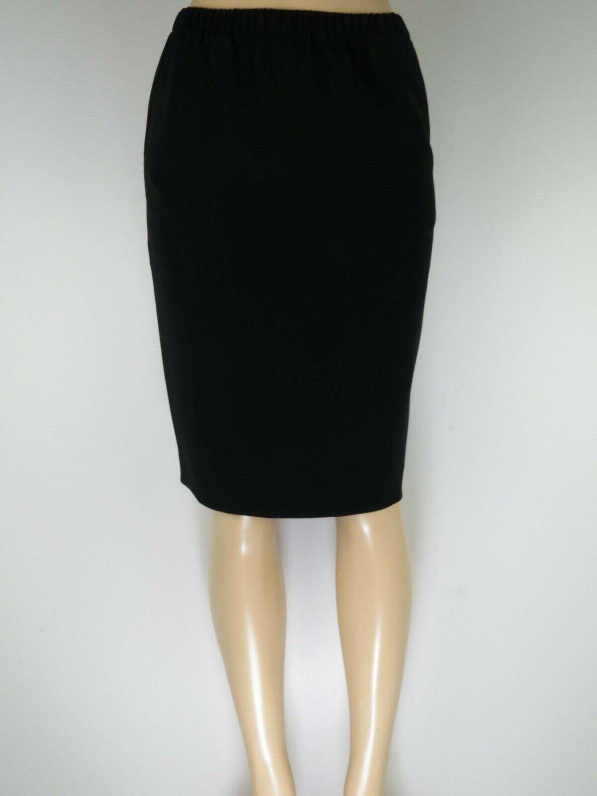 NWT ST JOHN  Womens Skirt Pencil, Caviar, Size 4