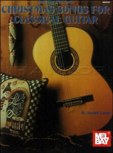 Christmas Songs For Classical Guitar Music Book-afficher Le Titre D'origine