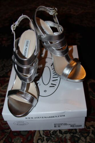 Talons Steve Madden Taille Silver 8 Maggical wwaRqxz
