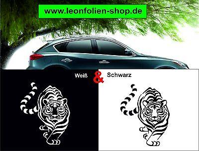 Sticker Autoaufkleber Tattoo Auto Wandtatoo Aufkleber Tiger 20 x 13,5 cm