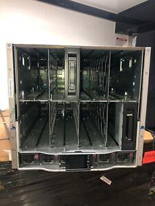 HP-BladeSystem-C7000-G3-Gen3-Platinum-Blade-Chassis-6x-2450W-PSU-10x-Fans-2x-OA