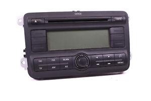 Autoradio-original-Skoda-Fabia-Roomster-5J-CD-Radio-Dance-5J0035161-mit-Code