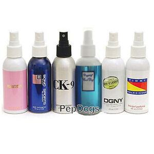 Dog cat doggie designer pet fragrance cologne perfume grooming coat fur spray ebay - Spray fur korbmobel ...