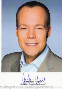 Hilfreich Dr 7923 GüNstige VerkäUfe Matthias Miersch Mdb Top Ak Original Signiert