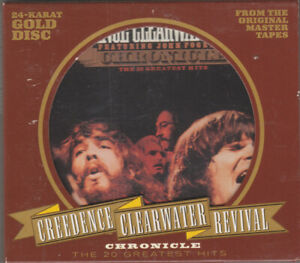 Creedence Clearwater Revival Chronicle Fantasy Gold CD