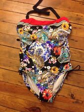 BNWT Fantasie Swim One Piece Suit Lascari Collection Size 36DD Color Multi