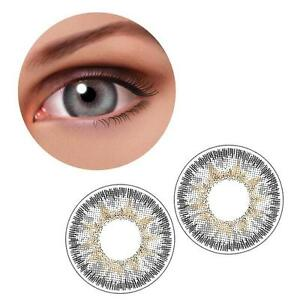 1-Pair-Contact-Lenses-Color-Soft-Big-Eye-UV-Protection-Cosmetic-Lenses-Gray-D3