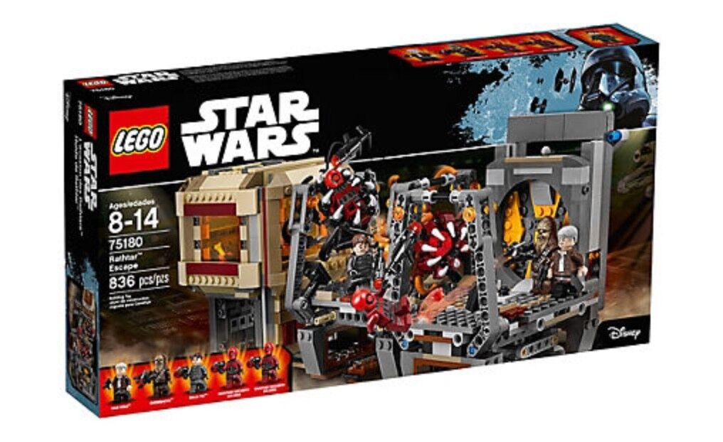 Lego Star Wars Rathtar Escape 75180 - 836pieces(Gift)