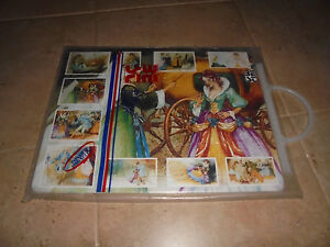 Vintage-Cinderella-Puzzle-with-the-fairytale-in-Greek-version-made-1992-MISB