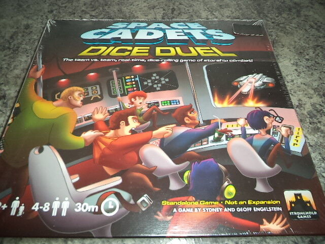 Space Cadets Dice Duel - Stronghold Games Board Game New