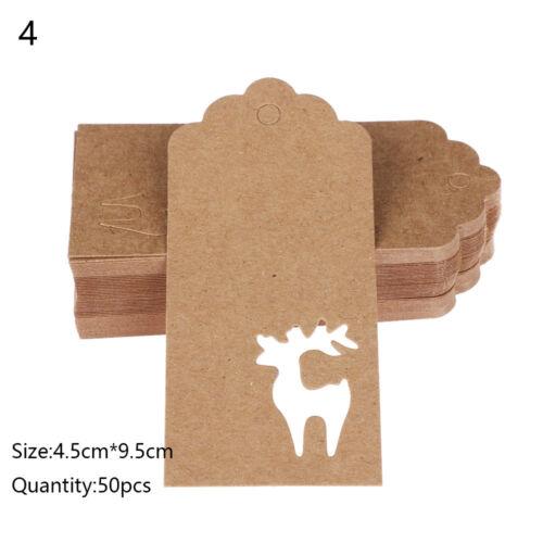 Paper Tags Handmade//Thank You DIY Crafts Hang Tag Gift Wrapping Christmas New