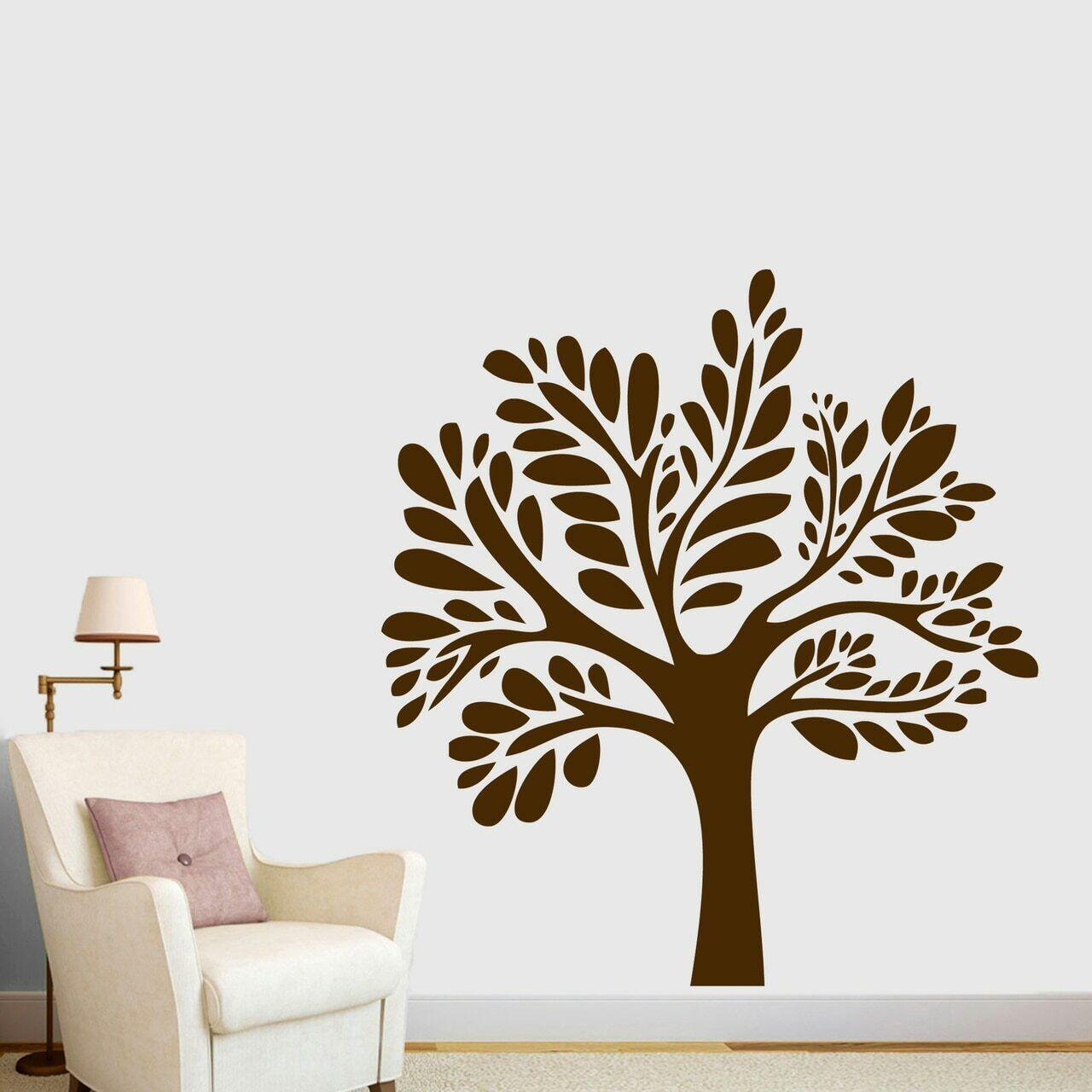 Willow Tree Parojo Calcomanía Árbol, Ramas, acento De Parojo, Decoración, Arte de la parojo de la Etiqueta Engomada,