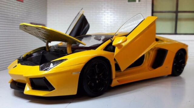 Lamborghini Aventador Lp700 4 Orange Welly 24033o 1 24 Scale For