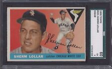 1955 Topps #201 Sherm Lollar Chicago White Sox 5.0 EX Professionally Graded