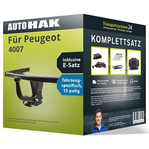 E-Satz AHK Anhängerkupplung starr für PEUGEOT 4007