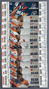 2017-NFL-CHICAGO-BEARS-FULL-UNUSED-FOOTBALL-TICKETS-MITCH-TRUBISKY-ROOKIE-DEBUT