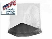 Cd/dvd Bubble Mailers Ultra-lite Poly Envelopes 6.5 X 9 100 Count Made In Usa