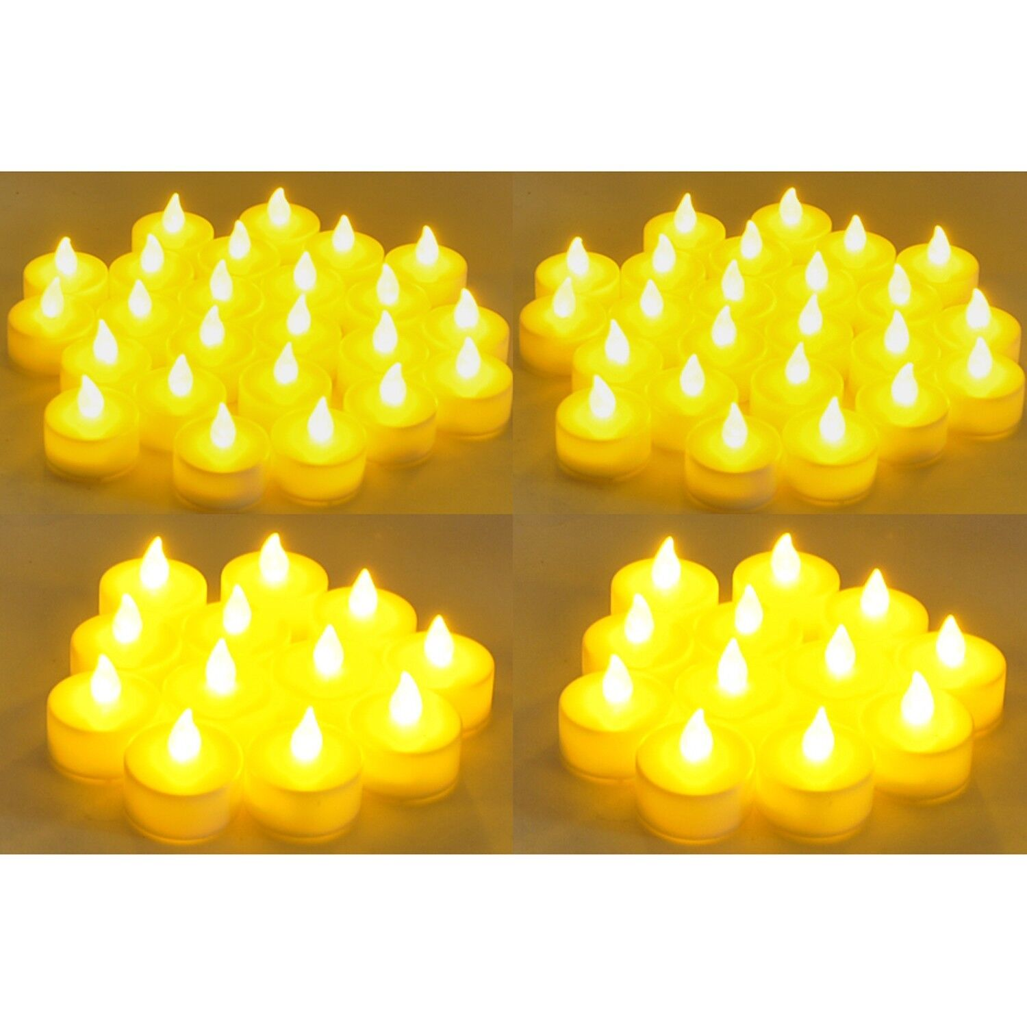 Flameless LED  Tealight  Candles  Tea Light Candle 144pcs Battery Operated