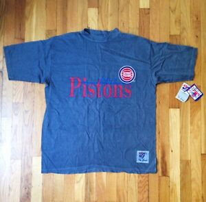 755df8f80ed4 vintage detroit pistons shirt the game mens size XL deadstock NWT ...