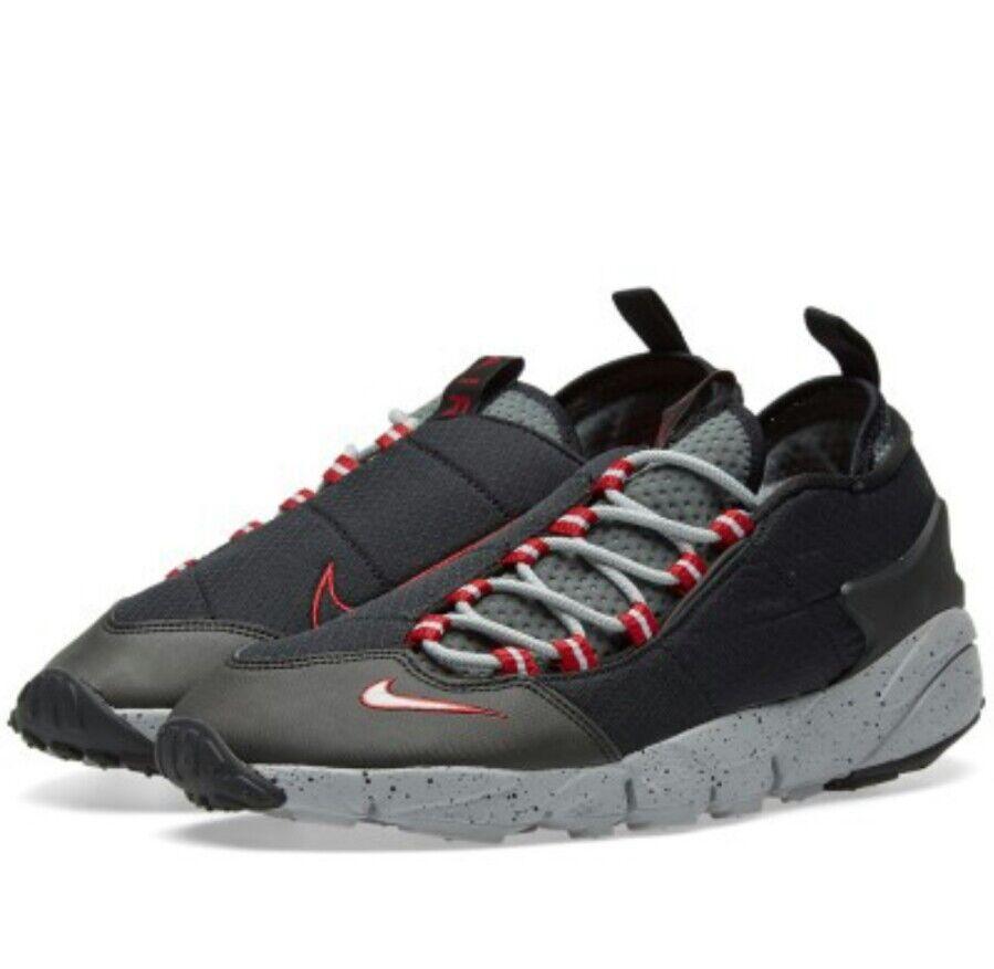 Da E E Da Uomo Nike Air Footscape NM Nero E Da Scarpe Da Ginnastica LUPO   f93a52