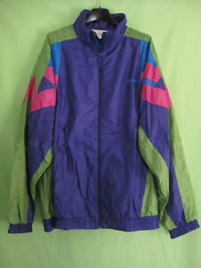 90's Toile Ancien Nylon Adidas Vert Violet Veste Polyamide Vintage 56wEWqgH