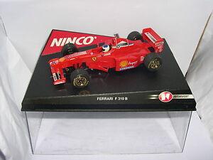 Ninco 50162 Ferrari F310 B # 5 Allemand Pilote M.schumacher Mb