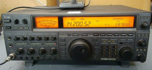 Icom Ic 761 Hf All Band Manual 4 Filter Ham Radio Transceiver For Sale Online Ebay