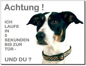 Haustierbedarf Möbel & Wohnen türschild-warnschild-hundeschild Jack Russel Terrier-hund-alu-schild--2-3 Mm