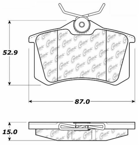 D340A FITS *SEE CHART* BRAND NEW POWER STOP REAR BRAKE PADS 16-340A