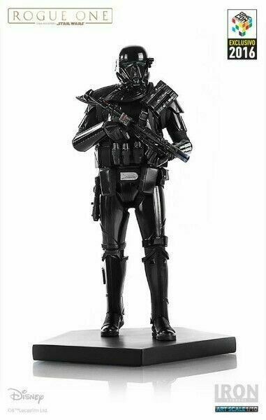DEATH TROOPER COMBAT GEAR ART SCALE 1 10 STAR WARS ROGUE ONE IRON STUDIOS STATUE