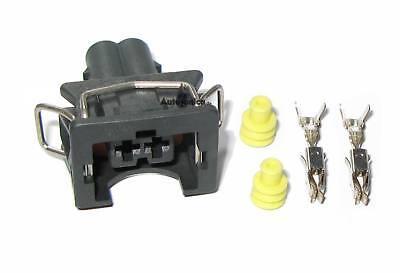 4 x Stecker JPT Junior Power Timer 2-polig EV1 Einspritz Buchse Satz BOSCH