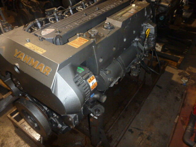 Pair of 300 HP Yanmar Diesel Engines 6 LY Ste