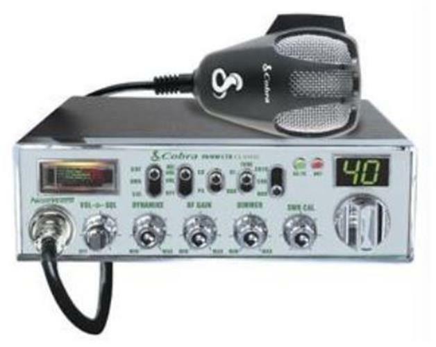 titantime Cobra 29NW LTD Classic Night Watch Backlit Professional CB Radio w/ Mic