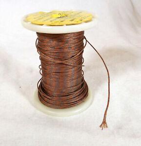 30-Ga-Copper-Constantan-Thermocouple-Wire-Glass-Insulation-New-Old-Stock