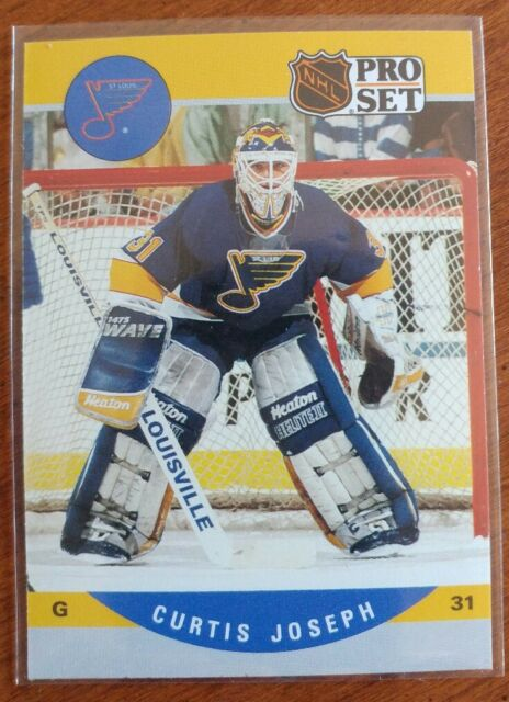 1990 Pro Set Curtis Joseph 638 Hockey Card