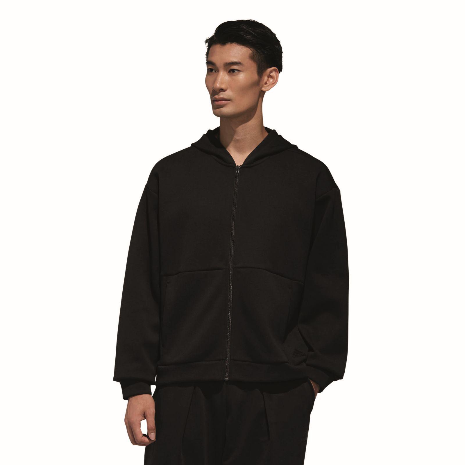 Adidas performance señores capucha chaqueta s2s  SPC HD Hood negro  tienda hace compras y ventas
