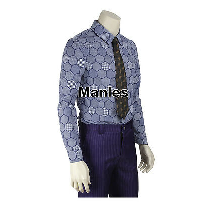 New Halloween Movie Clown Cosplay Superhero Costume Men Christmas Outfit Fancy