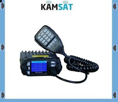 QYT KT-8900 Mini Dual Band Mobile Transceiver 2M 136-174MHz//70cm 400-480MHz 25W Amateur Car Radio HAM