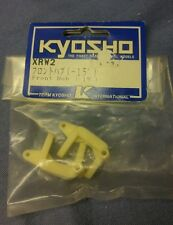 Vintage Kyosho Rampage outlaw pro, Pro-x and xrt front Hub XRW2 -15 degree