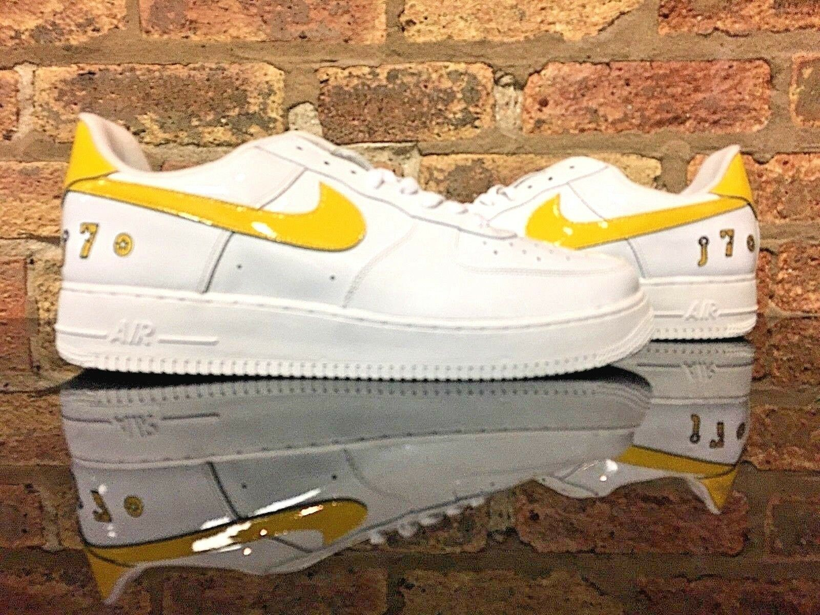 Nike Air Force 1 Low Jermaine O'Neal White Size 14 SAMPLE