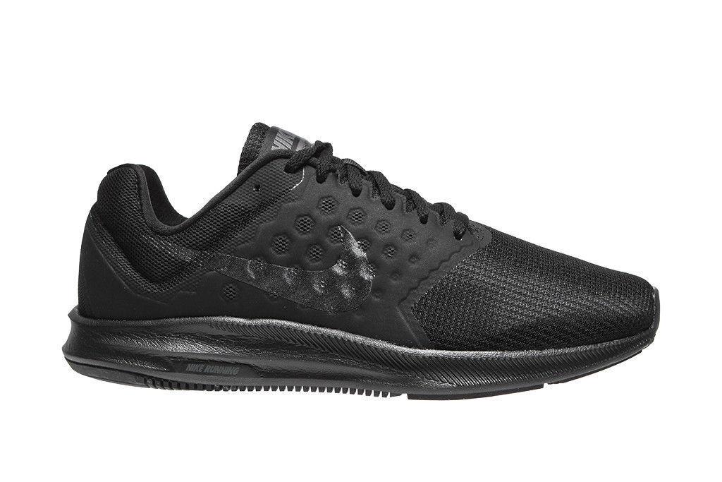 Nike Downshifter 7 Men 852459-001 Black Hematite Mesh Running shoes US Sz 8.5-13
