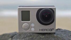 Used GoPro HERO 3+ Plus Black 4K 12MP Ultra HD Sport Action Camera Camcorder USA