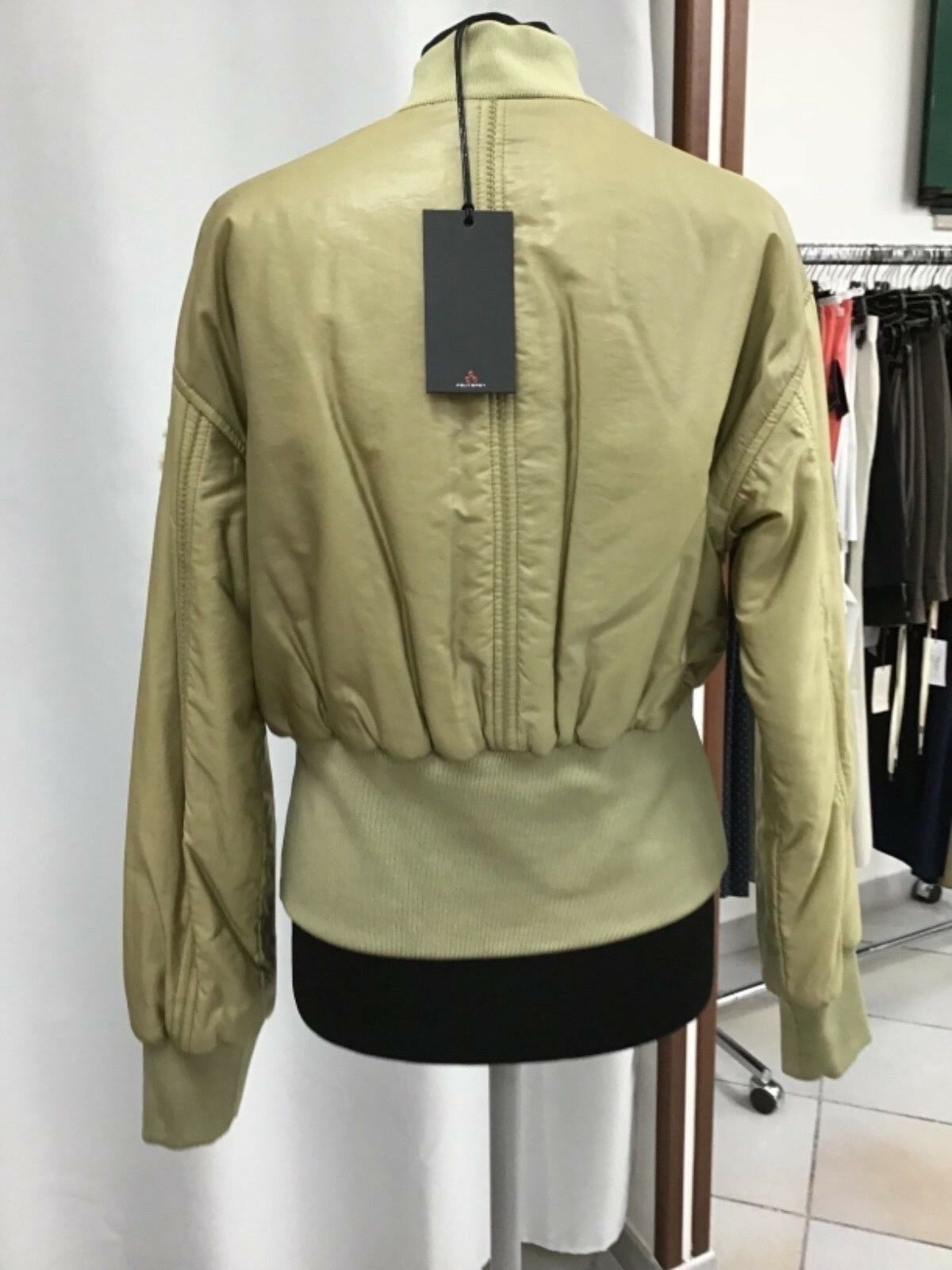 (TG. S) VAUDE, Giacca Classic Uomo Dundee Classic Giacca Zo Giacca, Verde (Trefoil (D4S) ffa707